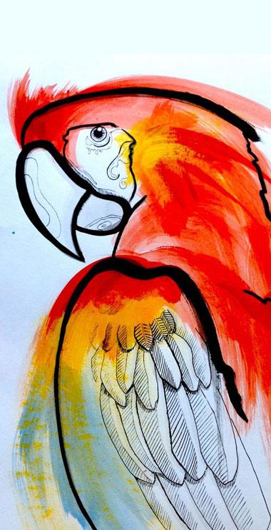 illustration peinture